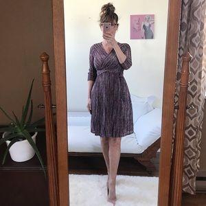 NWT JESSICA SIMPSON MATERNITY DRESS LONG SLEEVES